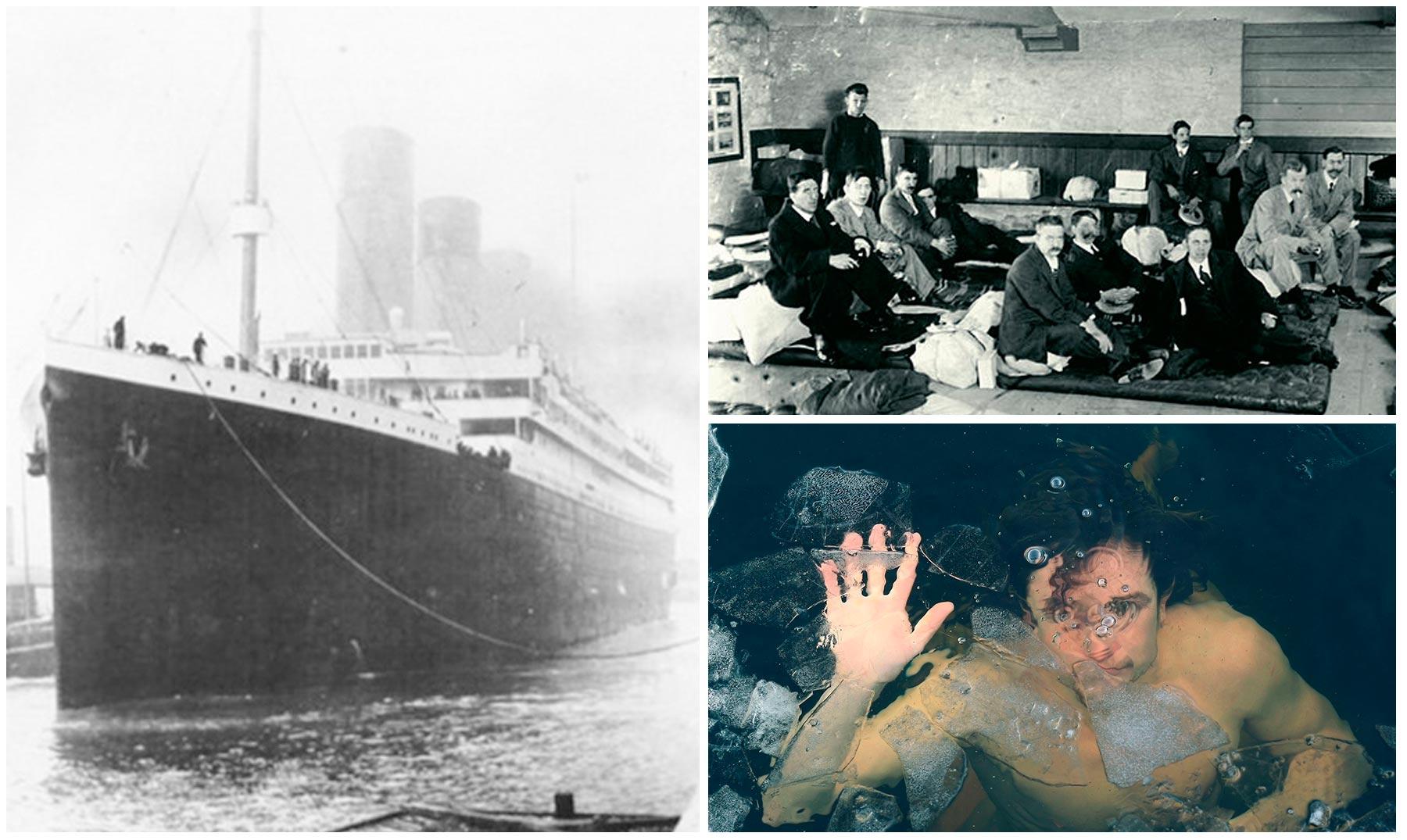 Más historias de los pasajeros del Titanic que quizá NO
