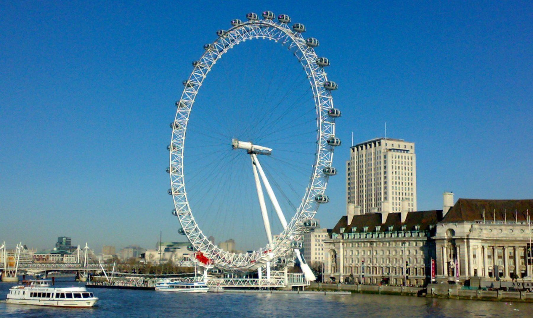 5 cosas que probablemente no conoces sobre el famoso London Eye