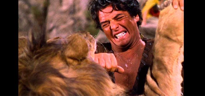 Cuando los actores aterrorizados arriesgaban sus vidas con leones reales...