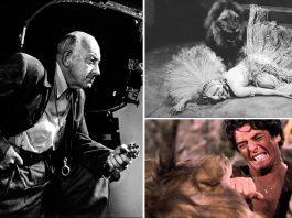 Cuando los actores aterrorizados arriesgaban sus vidas con leones reales