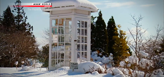 La estremecedora cabina telefónica que comunica a los vivos con espíritus del Más Allá en Japón