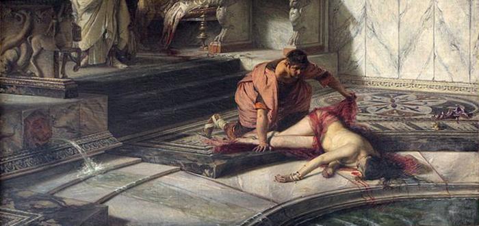 NErón y Agripina, de Antonio Rizzi