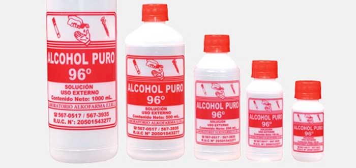 Agua oxigenada o alcohol heridas