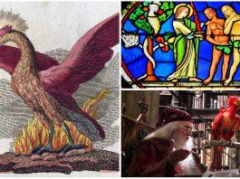 La leyenda del Ave Fénix y el Paraíso Terrenal