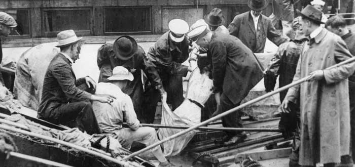 Cadáveres del Titanic