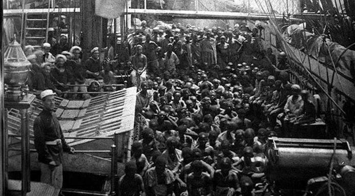 Historia de una impactante fotografía de 1868: niños esclavos rescatados