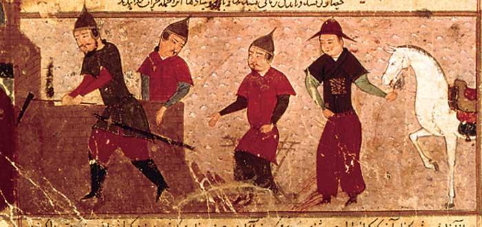 Gengis Khan, 3 de sus hijos