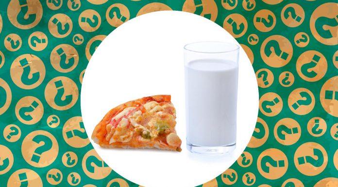 La nueva y bizarra tendencia culinaria de la gente que moja la pizza en leche