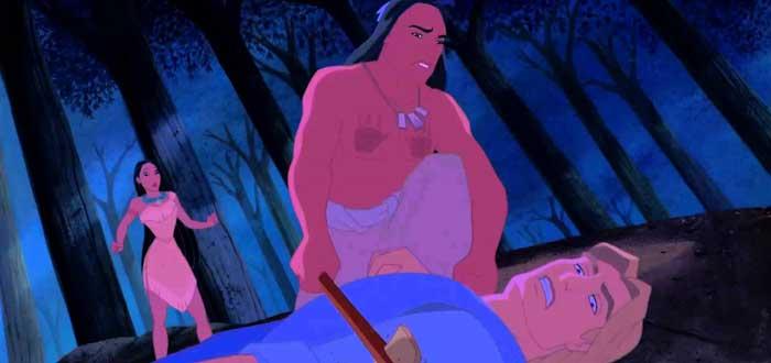 Pocahontas, princesas disney, amor