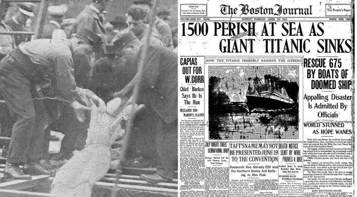 Qué pasó con los cadáveres del Titanic ESCANDALOSO