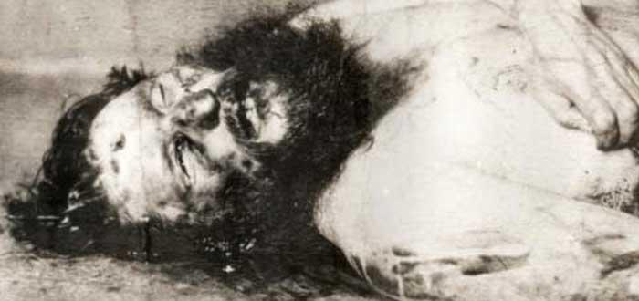 Rasputín muerto, cadáver