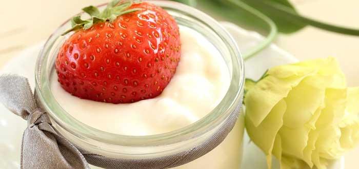 yogur, alimentos para reducir el estrés