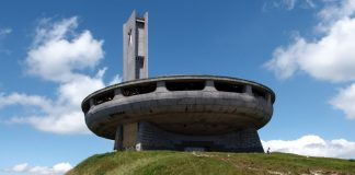El OVNI de Buzludzha, un monumento comunista abandonado en Bulgaria