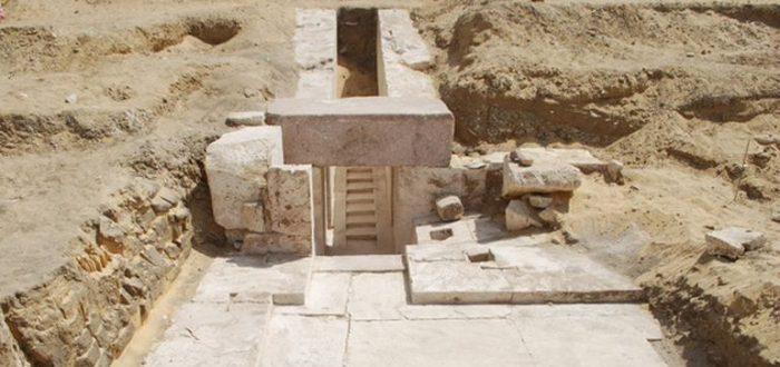 La pirámide de 3700 años hallada recientemente en Egipto