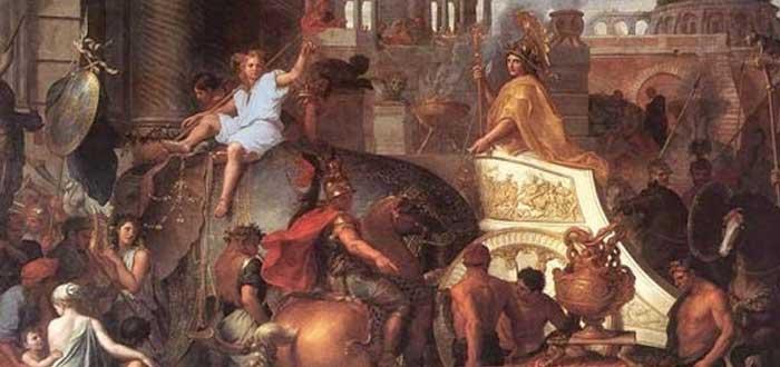 Alejandro Magno, entrada triunfal
