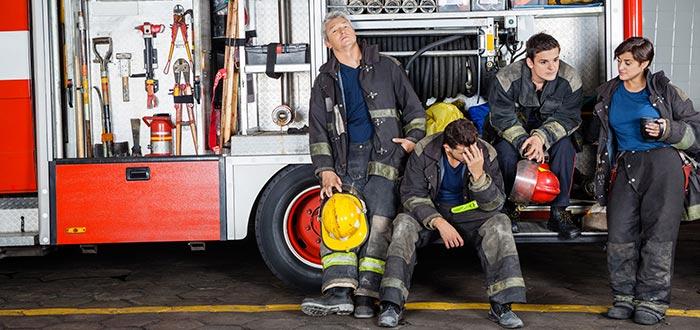 bomberos, Top 5 Trabajos más estresantes del mundo