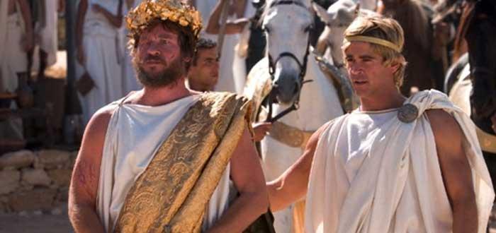 """Del film """"Alejandro Magno"""" (2004) - Flilipo II de Macedonia y Alejandro"""