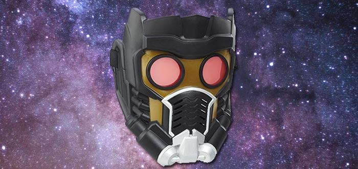 objetos de guardianes de la galaxia, máscara de Star-Lord