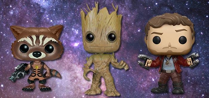 objetos de guardianes de la galaxia, muñecos, figuras