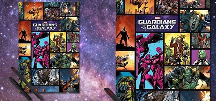 objetos de guardianes de la galaxia, poster