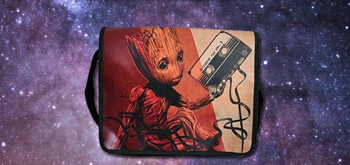 objetos de guardianes de la galaxia, bolsa de Groot