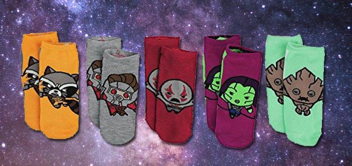 objetos de guardianes de la galaxia, calcetines