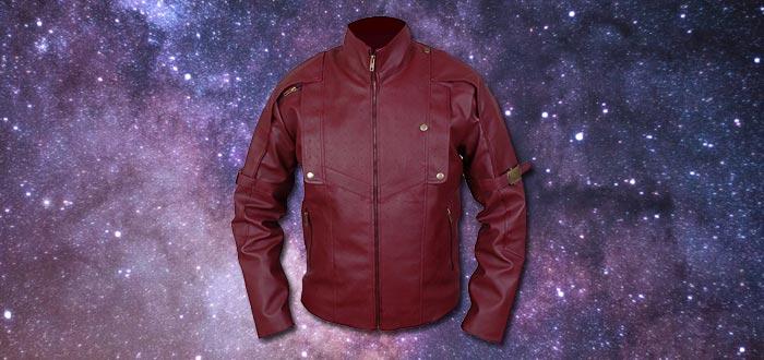 objetos de guardianes de la galaxia, chaqueta de Star-Lord