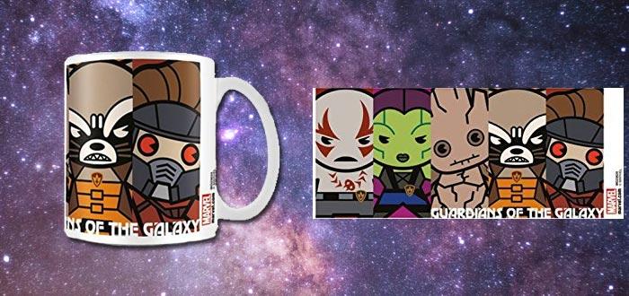 objetos de guardianes de la galaxia, taza