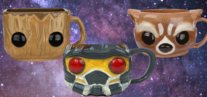 objetos de guardianes de la galaxia, tazas