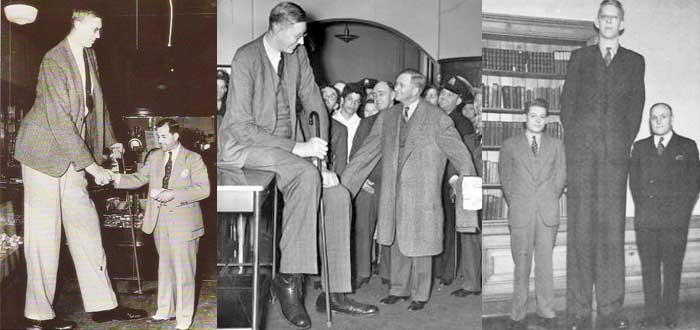 Robert Wadlow, el hombre más alto de la historia comprobado. ¿Cuánto medía?