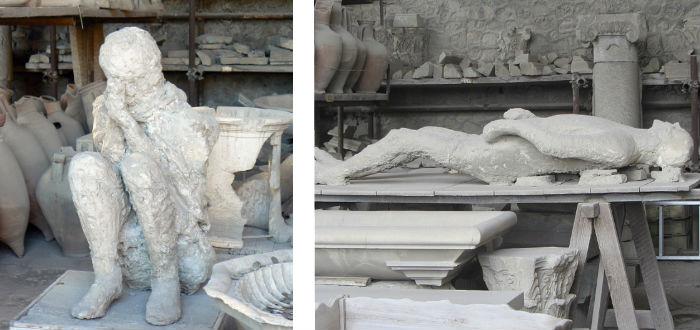 momia pompeya vesubio