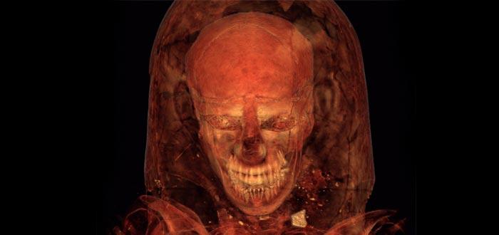 qué aspecto tienen las momias bajo las vendas