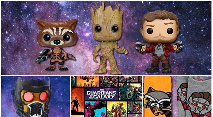 objetos de guardianes de la galaxia, geniales