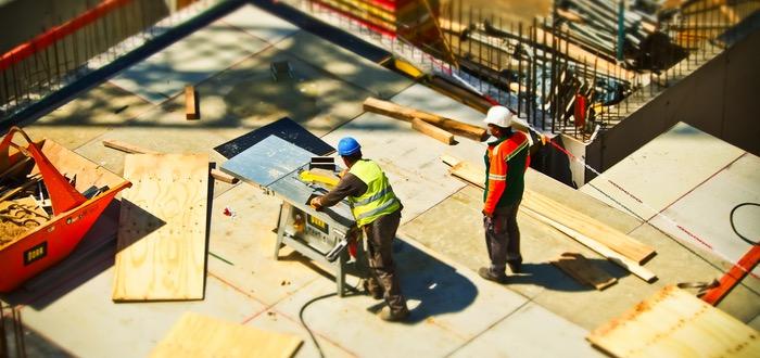 trabajar construcción