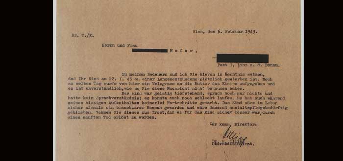 Am Spiegelgrund, la despiadada clínica infantil dirigida por nazis