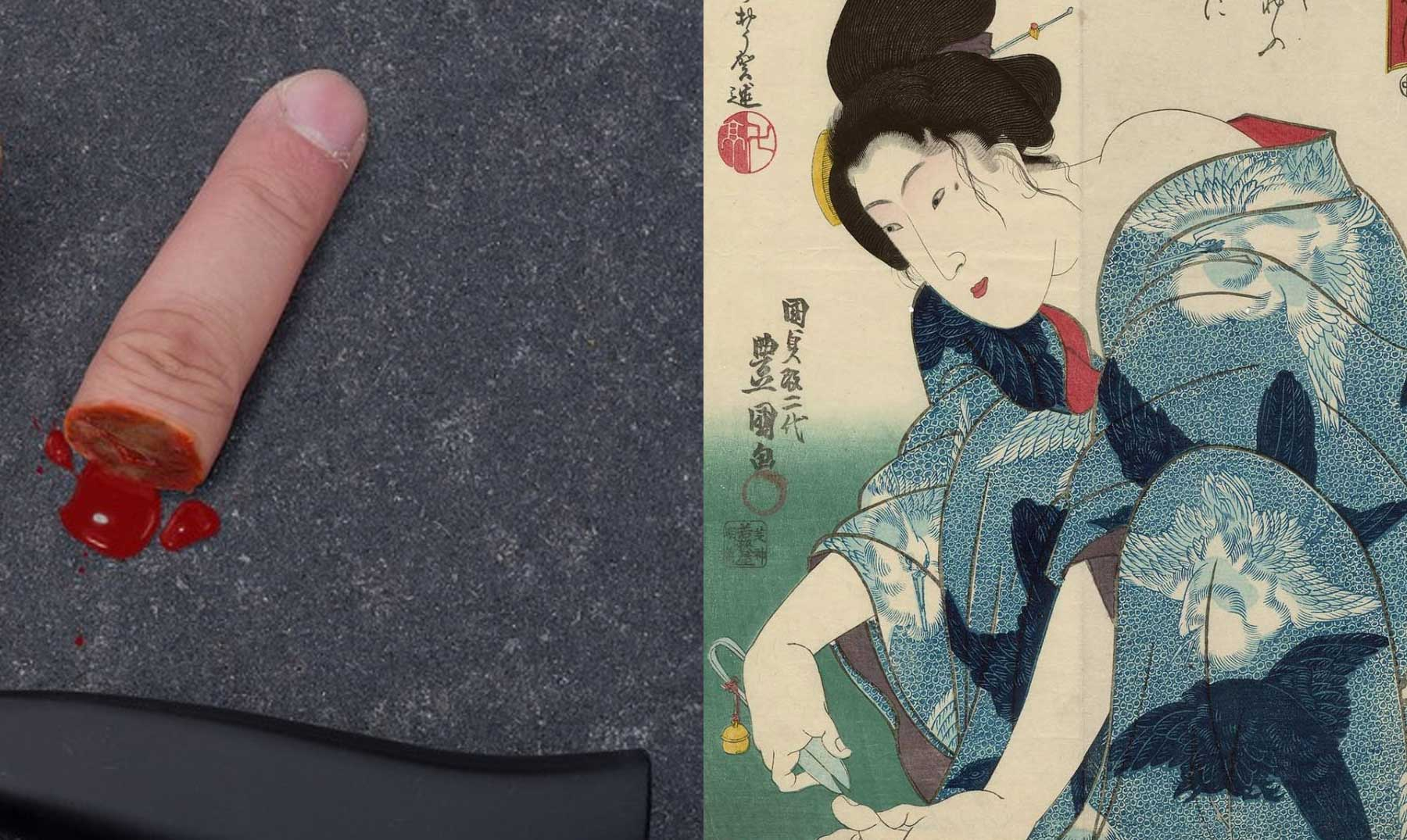 Dedos Como Prueba De Amor Las Cortesanas Japonesas En La Era Edo