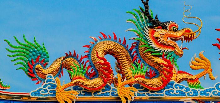 El origen de los dragones chinos