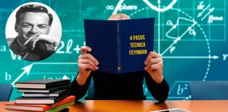 La increíble técnica Feynman. Entiende cualquier cosa en 4 pasos