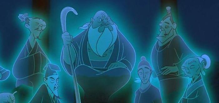 """En el mismo film """"Mulan"""" se daba mucha importancia a los ancestros y su honor. El linaje tiene un papel esencial en la película"""