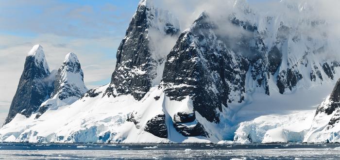 Antártida, montañas