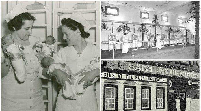 La atracción de feria con bebés prematuros que salvó a miles de niños