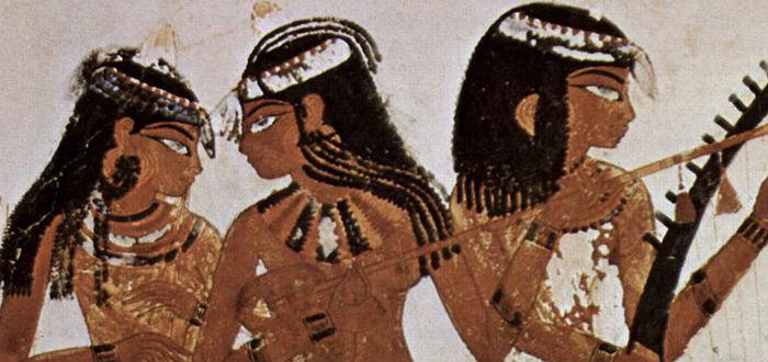 menstruación en el pasado, mujeres egipcias