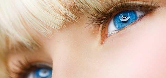 ojos azules, mujer, rubia
