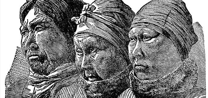 vikingos de groenlandia, inuits