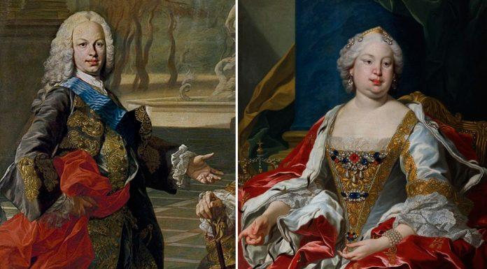 Fernando VI y Bárbara de Braganza