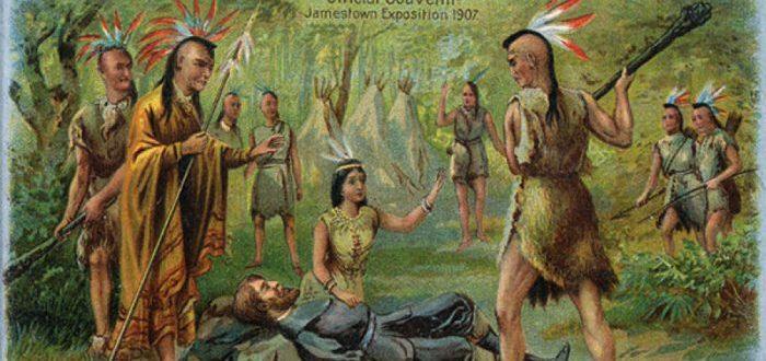 ¿Y si en REALIDAD Pocahontas nunca salvó a John Smith?