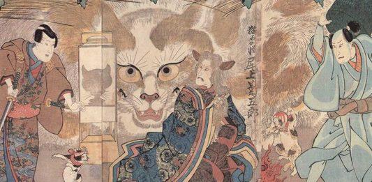 La leyenda de los Bakeneko, los temibles gatos de Japón