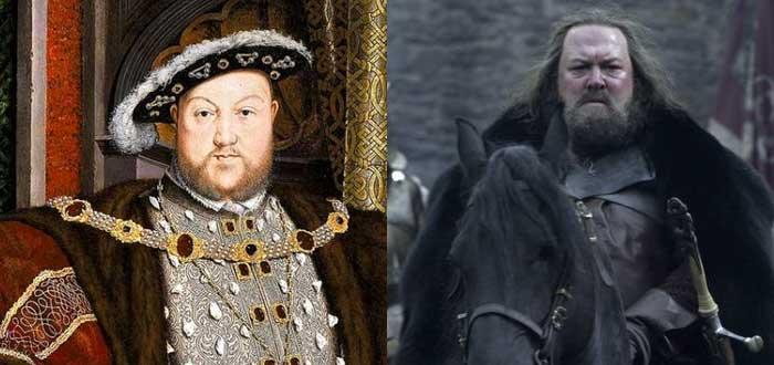 Personajes de la vida real que inspiraron algunos personajes de Juego de Tronos, ricardo II, Joffrey, Enrique VIII, Robert Baratheon
