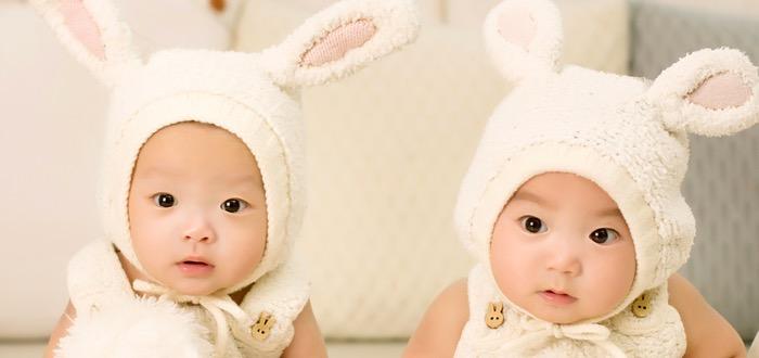 gemelos bebés