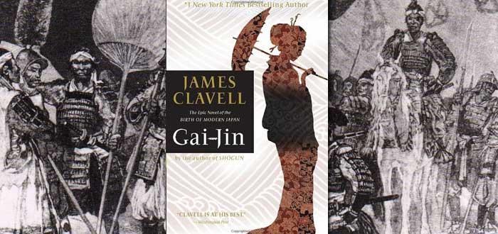 libros sobre samuráis, gai-jin